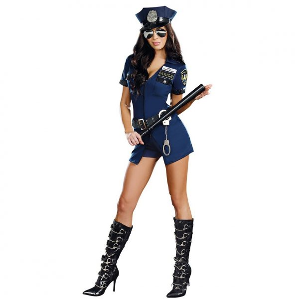 Disfraz de policía sexy mujer