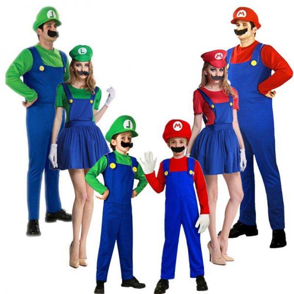Disfraz de Súper Mario y Luigi