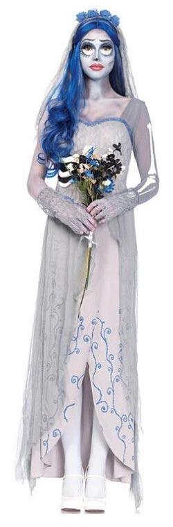Disfraz de la novia cadáver para mujer