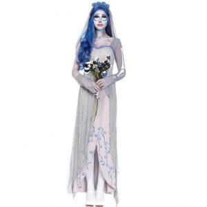 Disfraz de novia cadáver para mujer