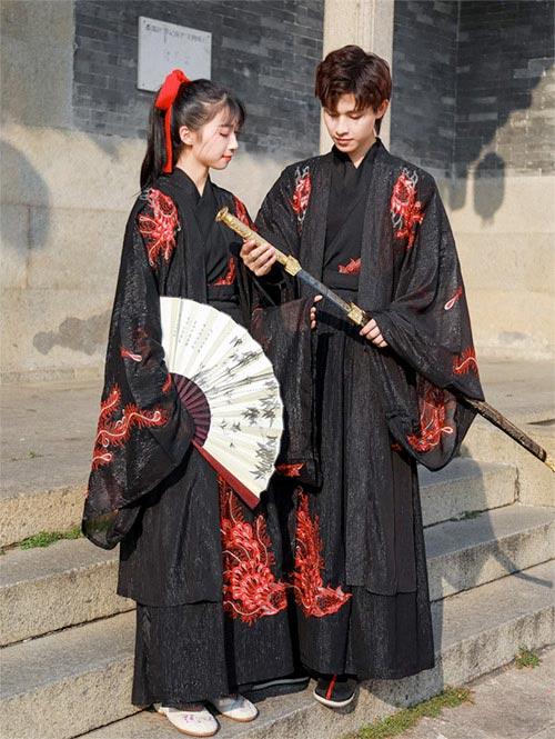 Disfraz de chino en pareja