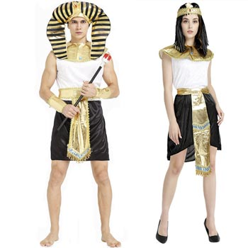 Disfraz de egipcios para parejas