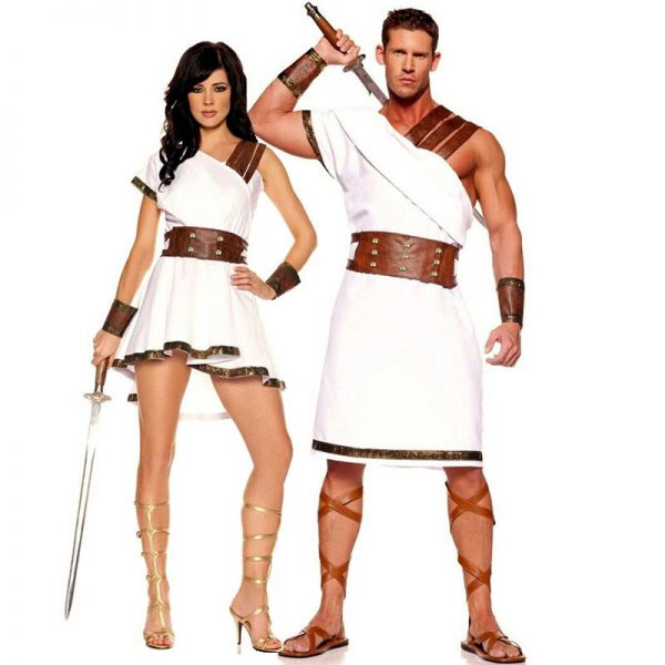 Disfraz de mitología griega para parejas